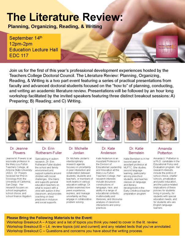 literature-review-workshop-flyer